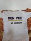T-shirt Mon Pied homme